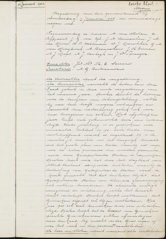 Ginneken en Bavel - Notulen van de gemeenteraad 1923-01-01
