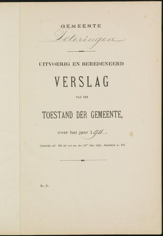 Teteringen - Verslagen van de toestand van de gemeente 1911-01-01