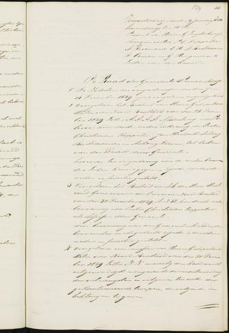 Princenhage - Notulen van de gemeenteraad 1840-01-01