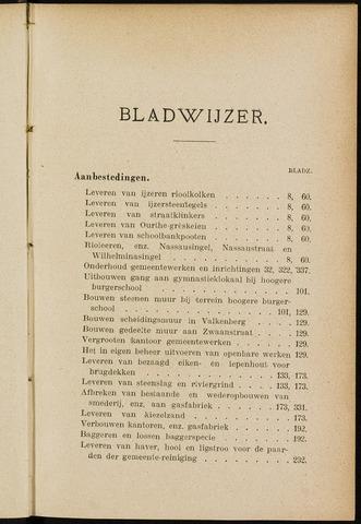 Breda - Indexen op de notulen van de gemeenteraad 1904