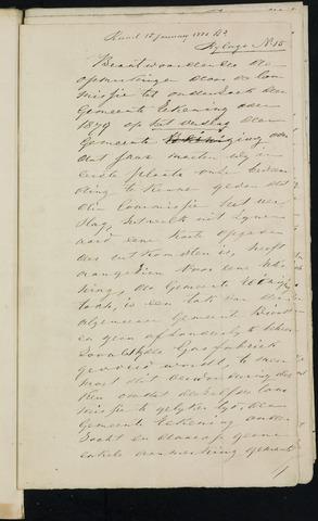 Breda - Bijlagen bij de notulen van de gemeenteraad 1881-01-01