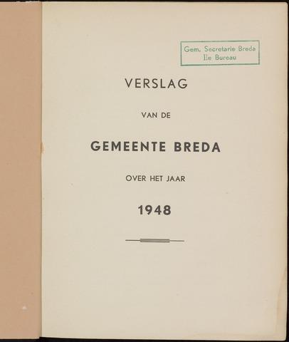 Breda - Verslagen van de toestand van de gemeente 1948-01-01