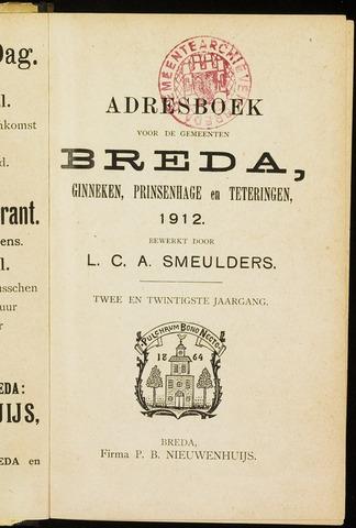 Adresboeken 1912-01-01