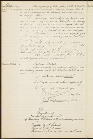Teteringen - Notulen en bijlagen van de gemeenteraad 1926
