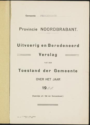 Princenhage - Verslagen van de toestand van de gemeente 1928