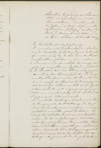 Princenhage - Notulen van de gemeenteraad 1882-01-01