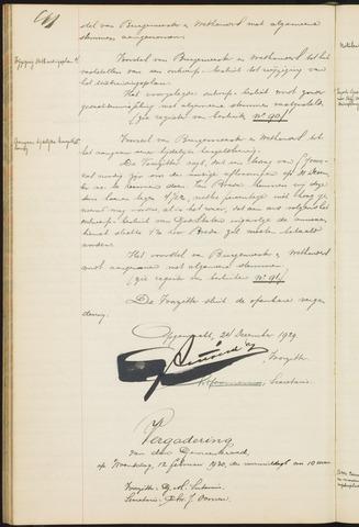 Teteringen - Notulen en bijlagen van de gemeenteraad 1930
