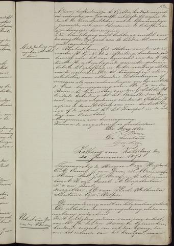 Ginneken en Bavel - Notulen van de gemeenteraad 1872-01-01