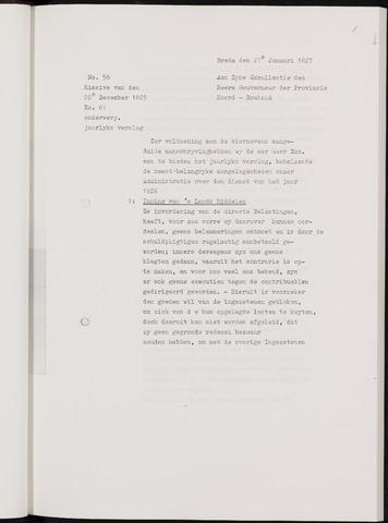 Breda - Verslagen van de toestand van de gemeente 1826-01-01