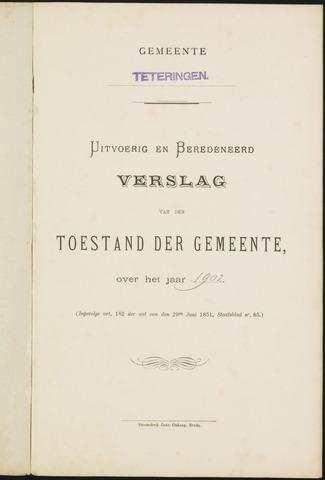 Teteringen - Verslagen van de toestand van de gemeente 1902