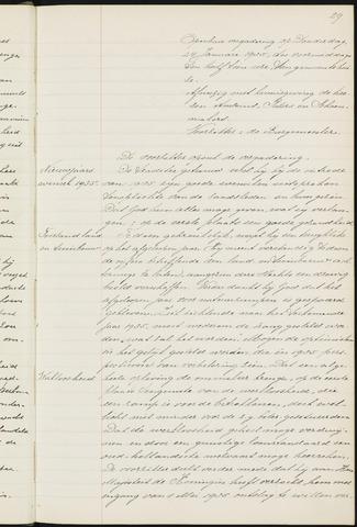 Princenhage - Notulen van de gemeenteraad 1935-01-01
