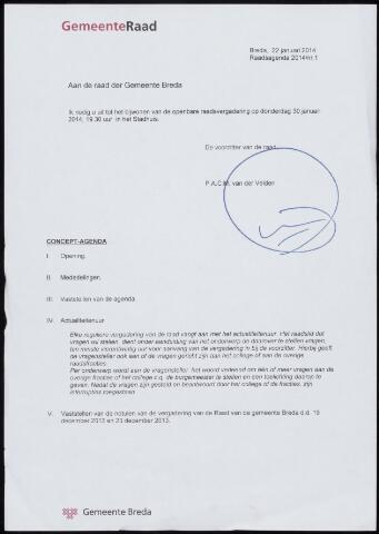 Breda - Bijlagen bij de notulen van de gemeenteraad 2014
