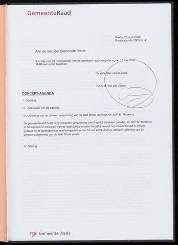 Breda - Bijlagen bij de notulen van de gemeenteraad 2009-05-18