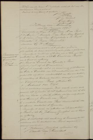 Ginneken en Bavel - Notulen van de gemeenteraad 1879-01-01