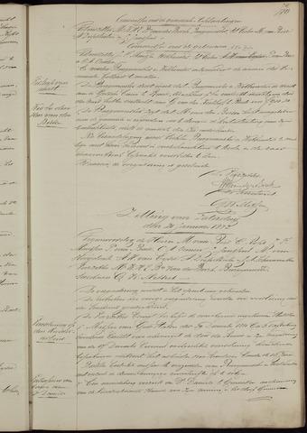 Ginneken en Bavel - Notulen van de gemeenteraad 1882-01-01