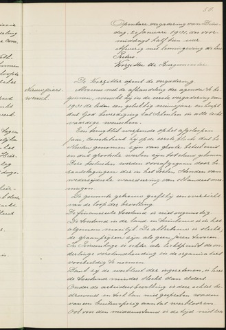 Princenhage - Notulen van de gemeenteraad 1931