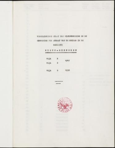 WHN - Nieuw-Ginneken 1942-1947 1800