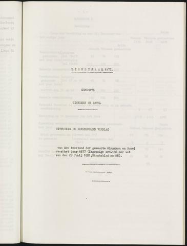 Ginneken en Bavel - Verslagen van de toestand van de gemeente 1877