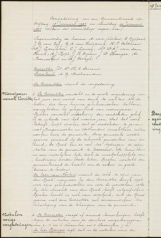 Ginneken en Bavel - Notulen van de gemeenteraad 1924-01-01