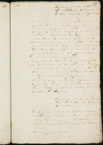 Princenhage - Notulen van de gemeenteraad 1817
