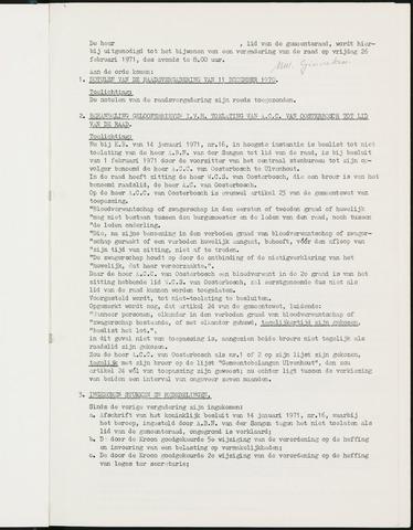 Nieuw-Ginneken - Notulen en bijlagen van de gemeenteraad 1971