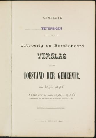 Teteringen - Verslagen van de toestand van de gemeente 1896