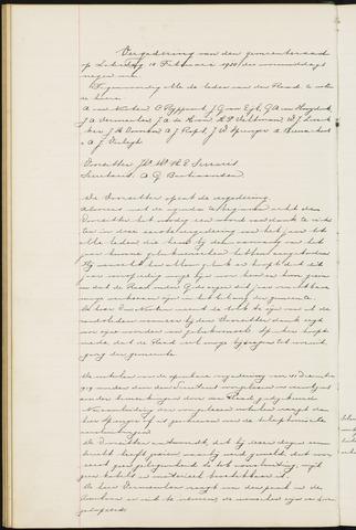 Ginneken en Bavel - Notulen van de gemeenteraad 1920-01-01