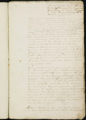 Princenhage - Notulen van de gemeenteraad 1814