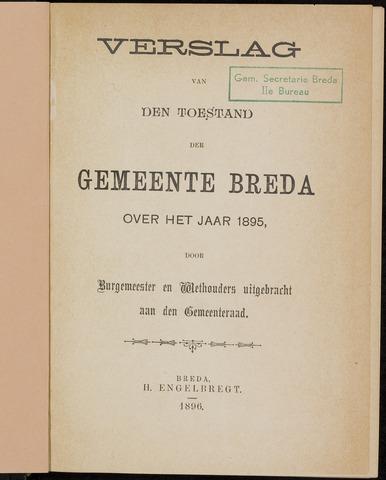 Breda - Verslagen van de toestand van de gemeente 1895