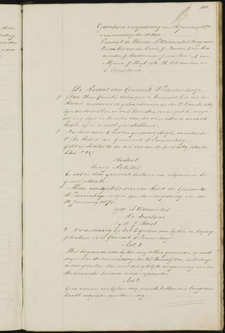Princenhage - Notulen van de gemeenteraad 1870