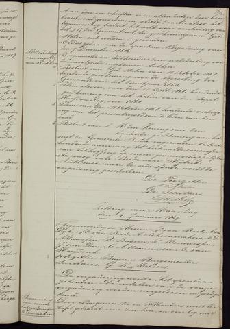 Ginneken en Bavel - Notulen van de gemeenteraad 1869-01-01