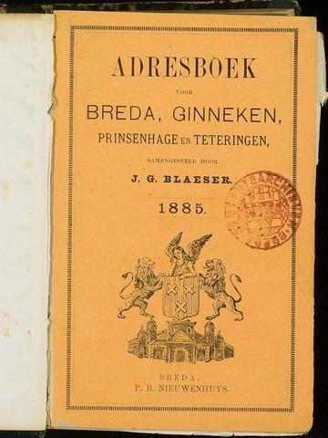 Adresboeken 1885-01-01