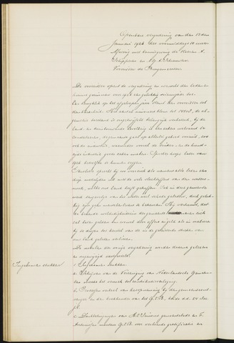 Princenhage - Notulen van de gemeenteraad 1926