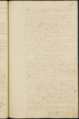 Teteringen - Notulen en bijlagen van de gemeenteraad 1855
