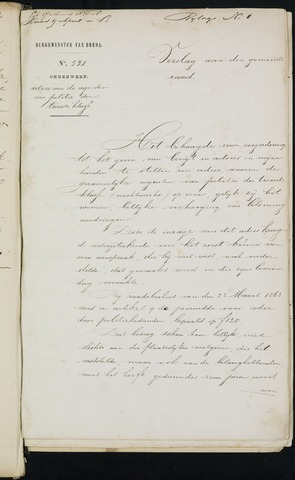 Breda - Bijlagen bij de notulen van de gemeenteraad 1870-01-01