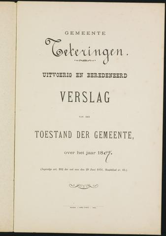Teteringen - Verslagen van de toestand van de gemeente 1887