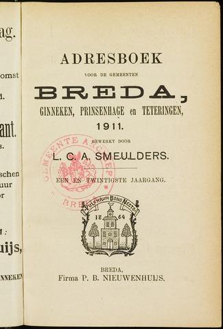 Adresboeken 1911-01-01