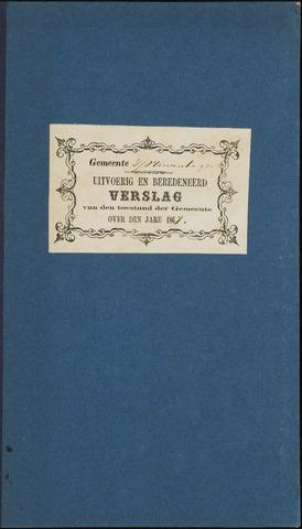 Princenhage - Verslagen van de toestand van de gemeente 1867-01-01