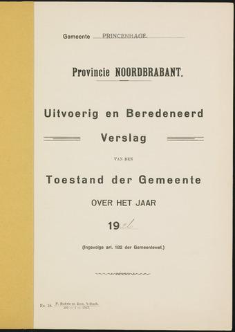 Princenhage - Verslagen van de toestand van de gemeente 1926-01-01