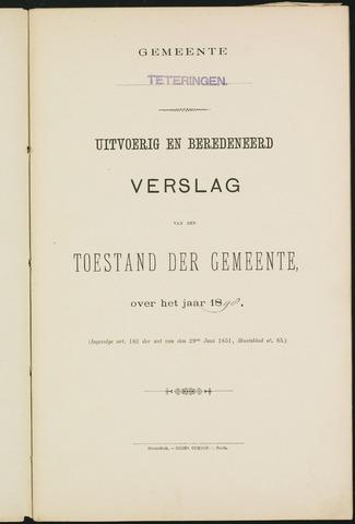 Teteringen - Verslagen van de toestand van de gemeente 1898