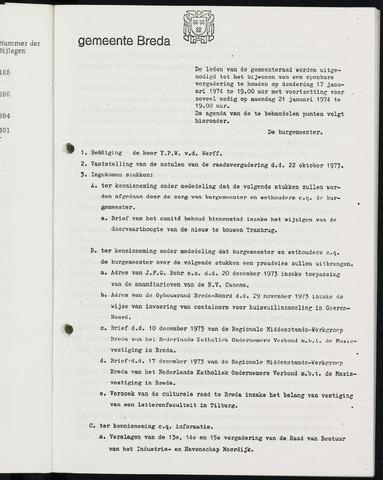 Breda - Bijlagen bij de notulen van de gemeenteraad 1974-01-01