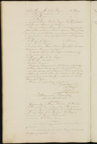 Ginneken en Bavel - Notulen van de gemeenteraad 1858-01-01