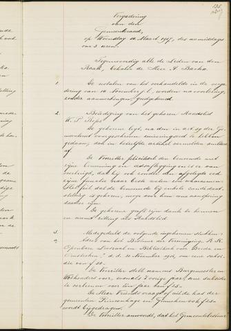Teteringen - Notulen en bijlagen van de gemeenteraad 1917