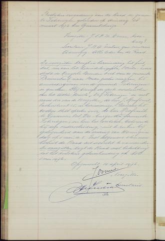 Teteringen - Notulen en bijlagen van de gemeenteraad 1972