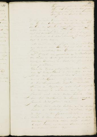 Princenhage - Notulen van de gemeenteraad 1818