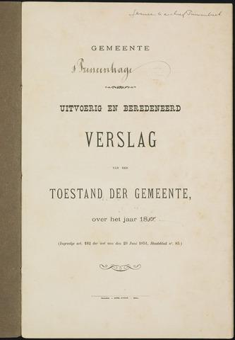 Princenhage - Verslagen van de toestand van de gemeente 1888