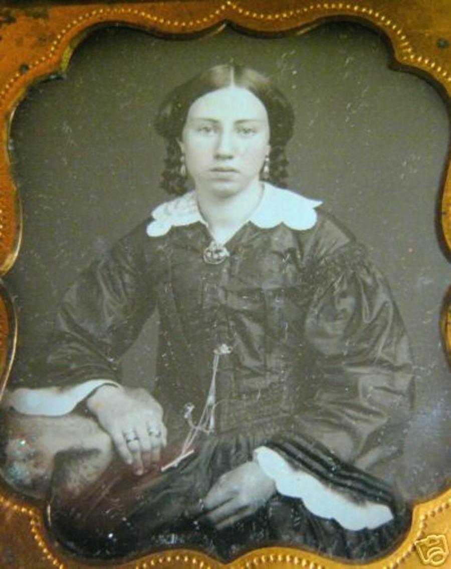 Lady With a Bonnet