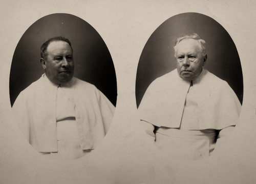 Twee geestelijken