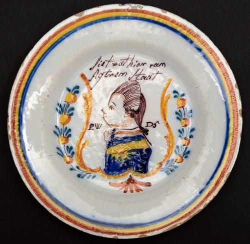 Gedenkbord Prins Willem V