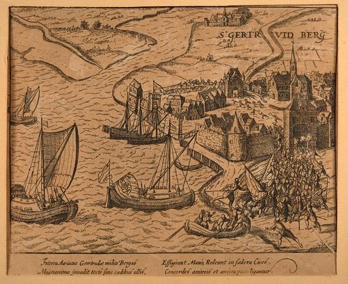 Beleg van Geertruidenberg in 1593